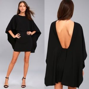 LuLu's Best Is Yet to Come Backless Dress Black